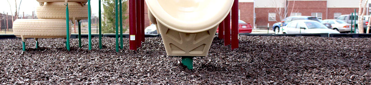An overview of installing rubber mulch for commercial playgrounds