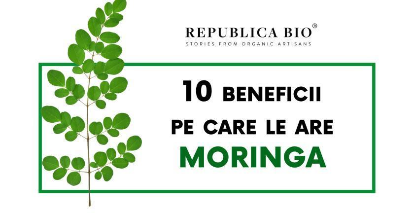 10 beneficii pe care le are Moringa [infografic]