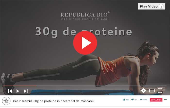 30g de proteina - Video Republica BIO