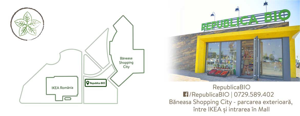 Magazin Republica BIO Baneasa Shopping City