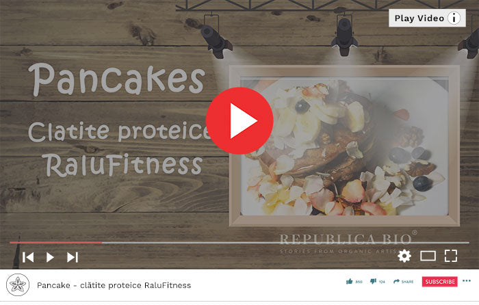 Pancakes - clătite proteice RaluFitness - Video Republica BIO