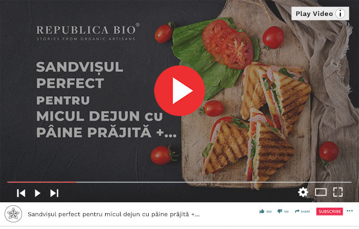 Sandvișul perfect - Video Republica BIO