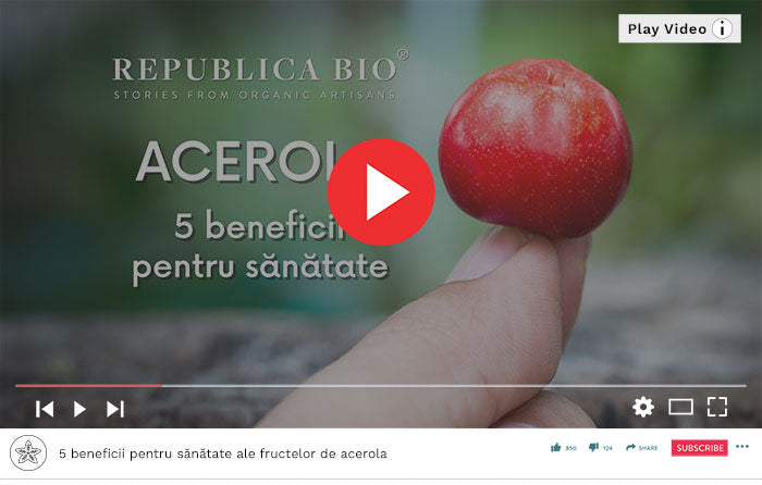 Acerola - Video Republica BIO