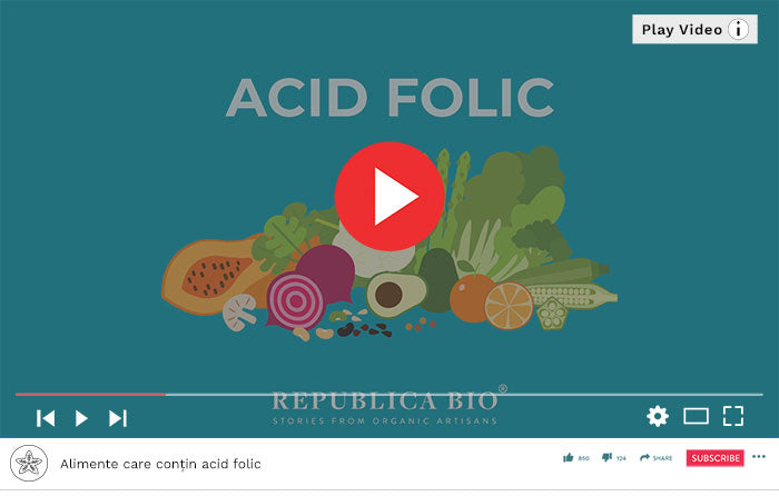 Alimente care contin acid folic - Video Republica BIO