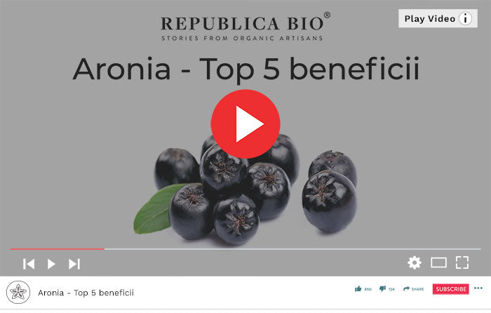 Aronia - beneficii - Video Republica BIO