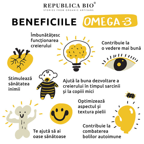 Beneficiile Omega 3 - Republica BIO