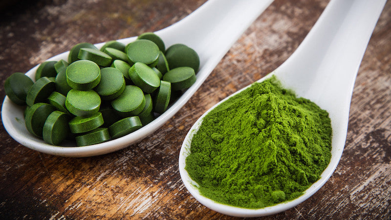 Chlorella vs spirulina