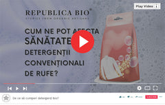 De ce sa alegi detergenti bio? - Video Republica BIO