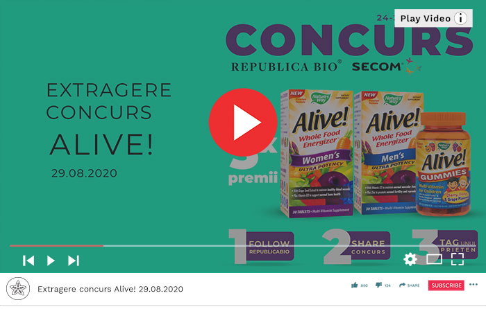 Concurs Alive! - Video Republica BIO