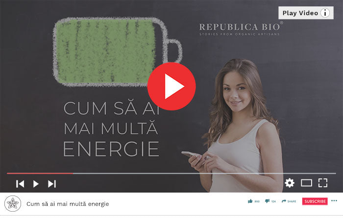 Cum să ai mai multă energie - Video Republica BIO