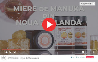 Miere de manuka - Video Republica BIO