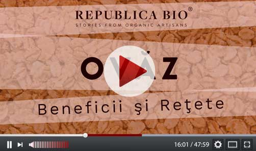Ovaz, beneficii si retete - Video Republica BIO