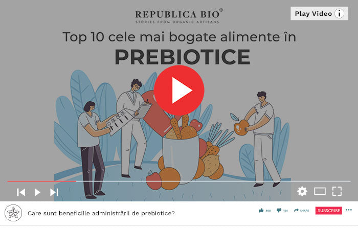 Top alimente bogate în prebiotice - Video Republica BIO