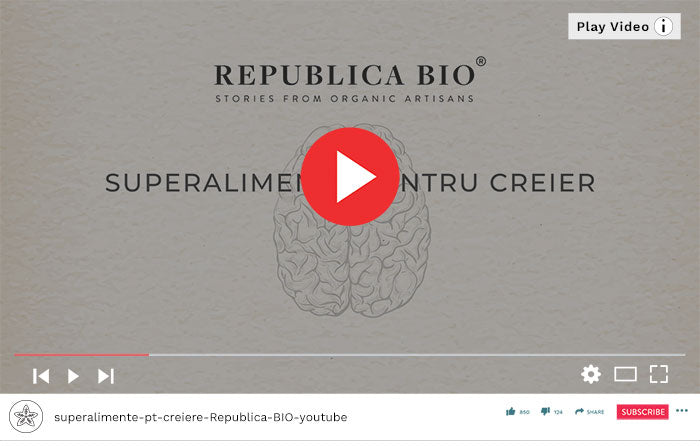 Superalimente pentru un creier - Video Republica BIO