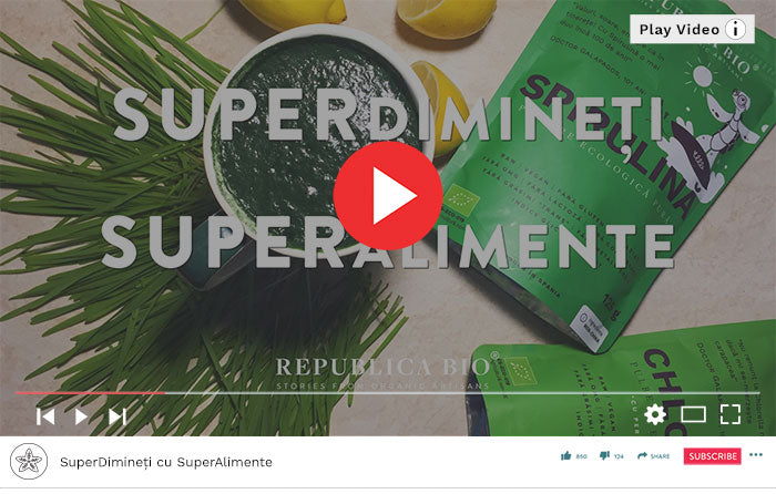 SuperDimineți cu SuperAlimente - Video Republica BIO