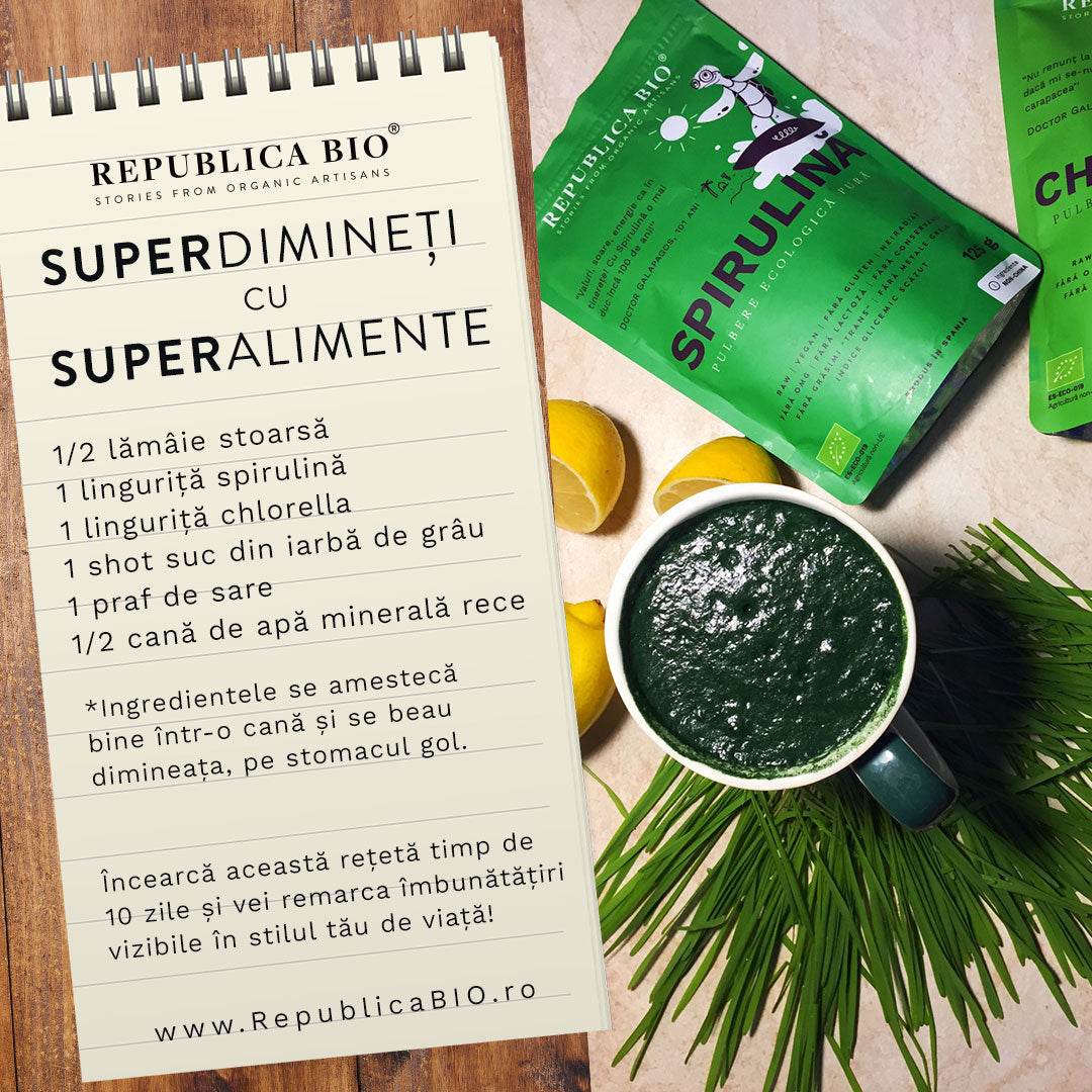 SuperDimineți cu SuperAlimente - Republica BIO