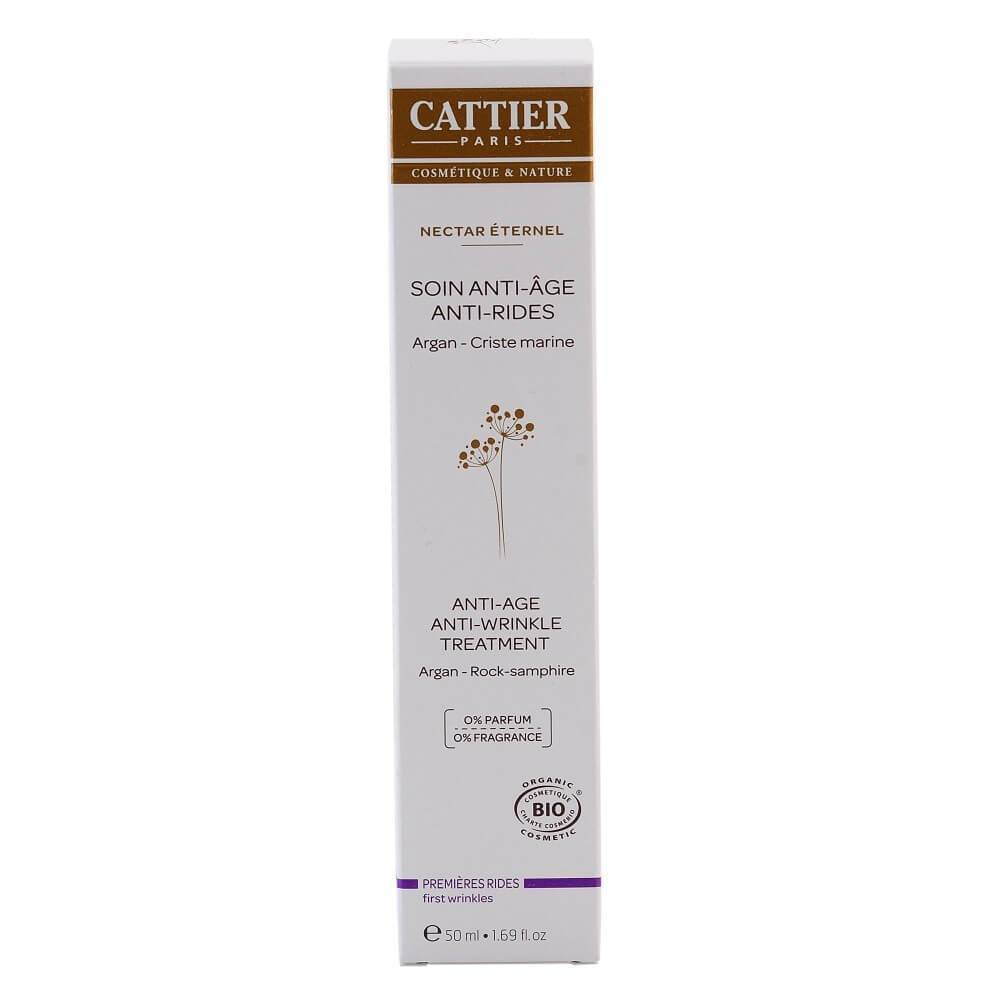 Tratament antirid Cattier Nectar Eternel, bio, 50 ml
