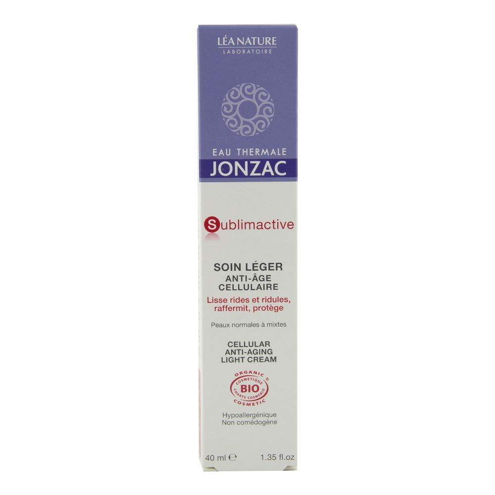 Sublimactive - Crema antirid ten normal-mixt Jonzac, bio, 40 ml