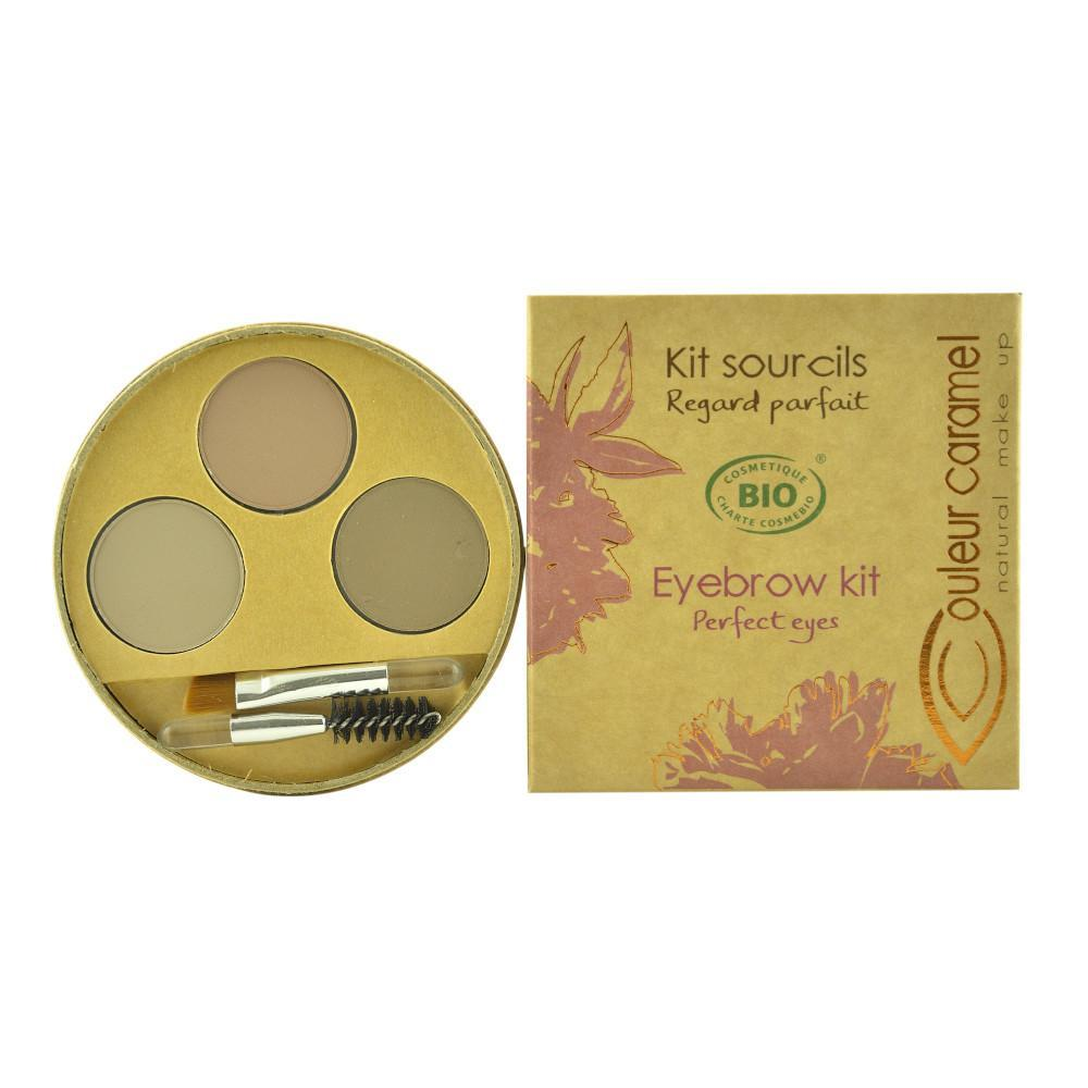 Kit de sprancene pentru blonde 928 Couleur Caramel, bio