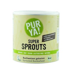 Super sprouts - hrisca germinata, raw, bio, 220g