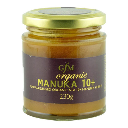 Miere de Manuka NPA 10+ cruda, din Noua Zeelanda, General Food Merchants, bio, 230 g
