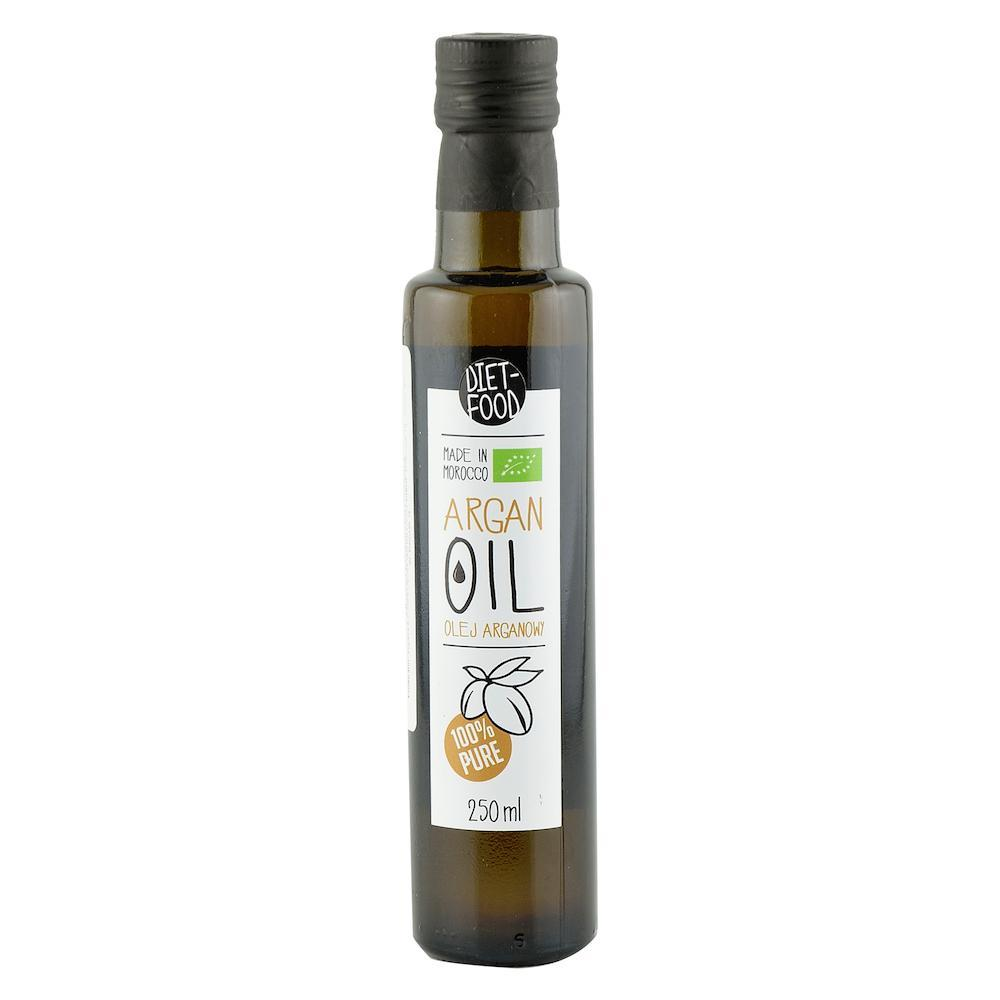 Ulei de argan alimentar Diet Food, bio, 250 ml