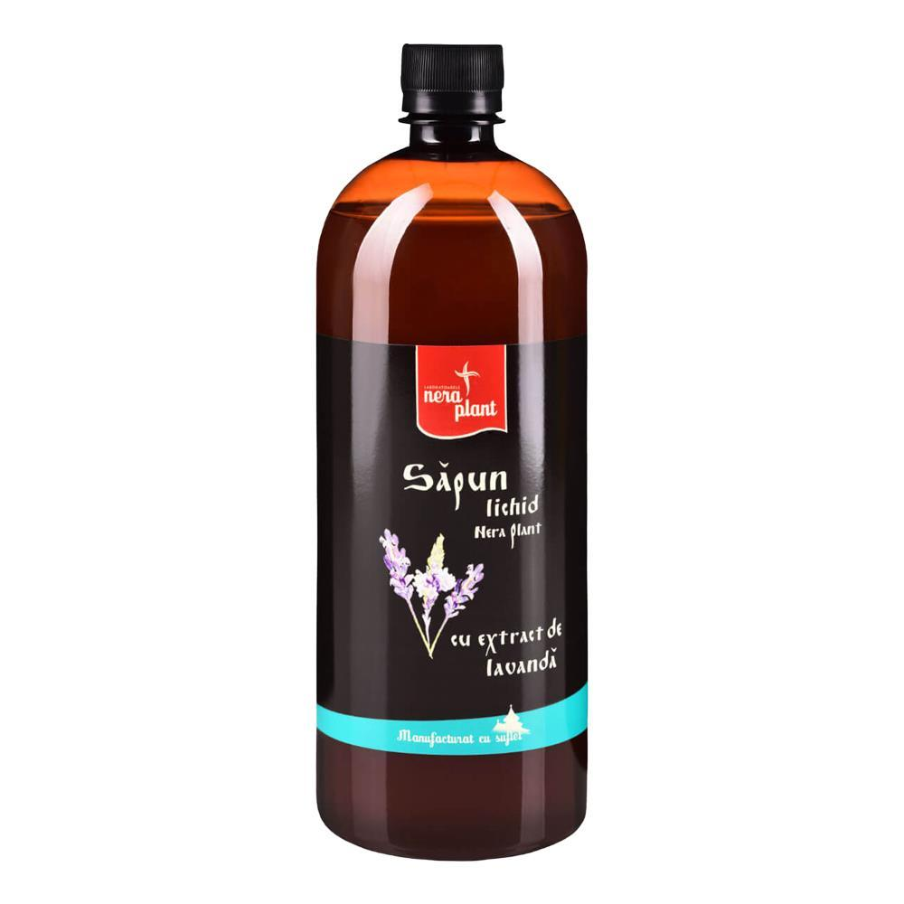 Sapun lichid cu extract de lavanda Nera Plant, 1000 ml, natural imagine produs 2021 Nera Plant republicabio.ro