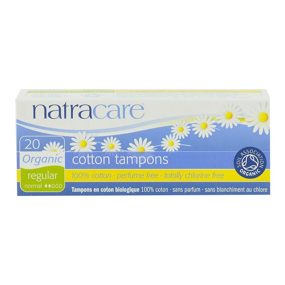 Tampoane interne Normal Natracare, 20 buc, bio