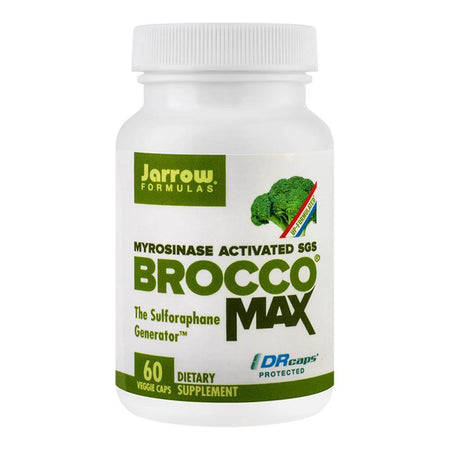 BroccoMax 385mg 60 capsule vegetale (DRcaps) Jarrow Formulas, natural, Secom