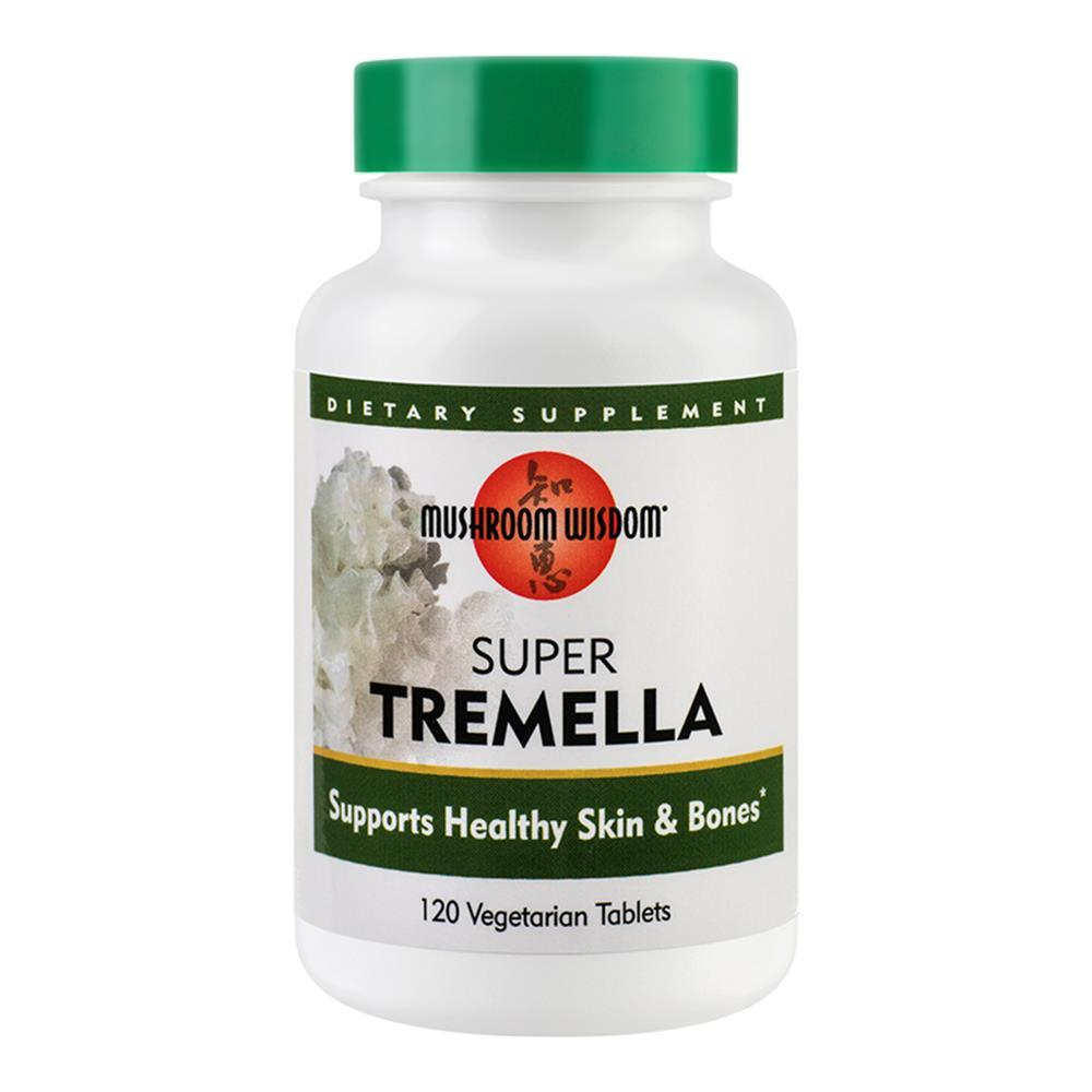 Super Tremella 120 tablete vegetale filmate Mushroom Wisdom, natural, Secom