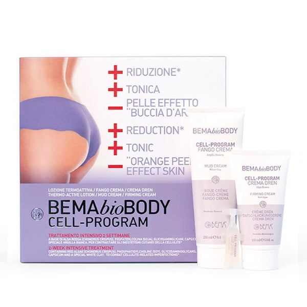 Cell-Program Kit anticelulita pentru corp, Bema, bio, 425 ml