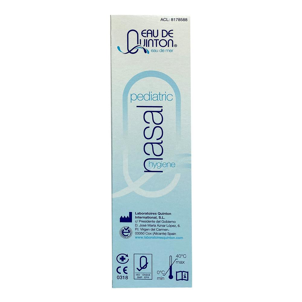 Spray nazal cu apa de mare Pediatric Quinton, 100ml, natural