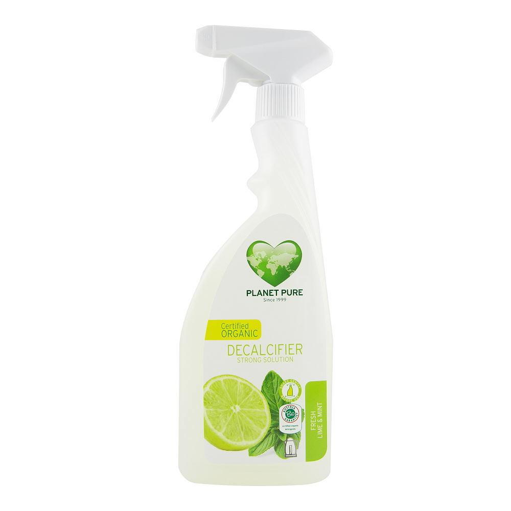 Detartrant cu pulverizator lime si menta Planet Pure, bio, 510 ml imagine produs 2021 Planet Pure republicabio.ro