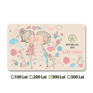 Card Cadou Republica BIO Valentine's Day - Republica BIO