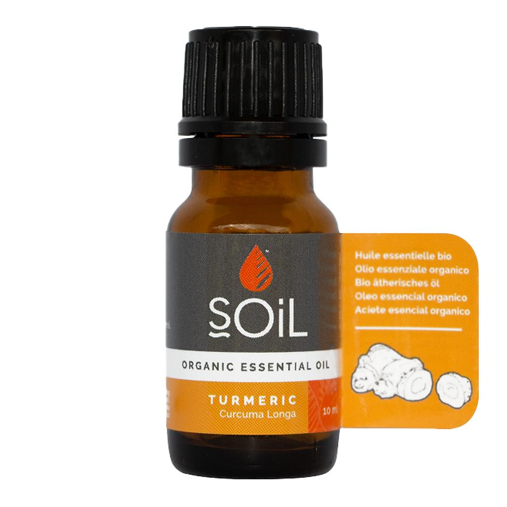 Ulei Esential Turmeric SOiL, bio, 10 ml imagine produs 2021 SOiL republicabio.ro