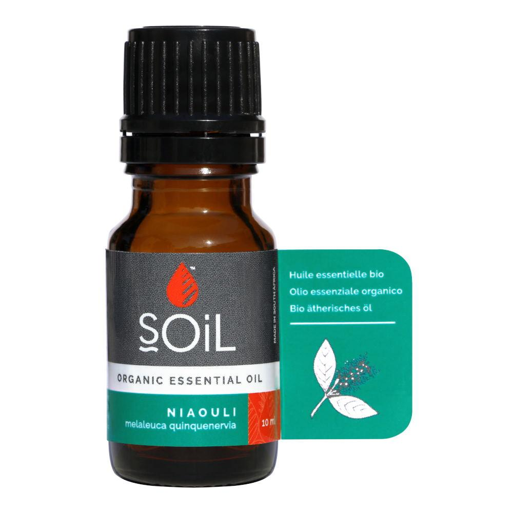 Ulei Esential Niaouli SOiL, bio, 10 ml imagine produs 2021 SOiL republicabio.ro
