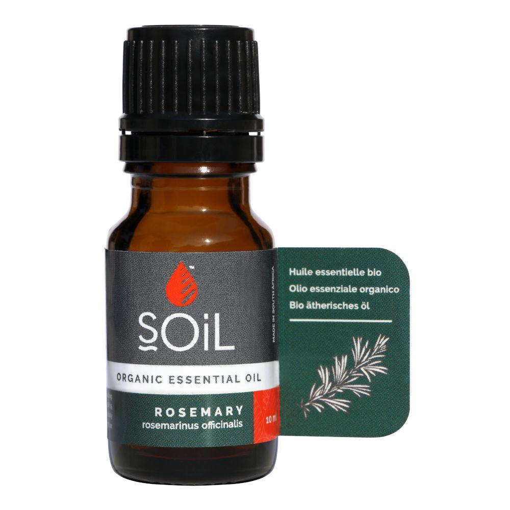 Ulei Esential Rosemary - Rozmarin SOiL, bio, 10 ml imagine produs 2021 SOiL republicabio.ro