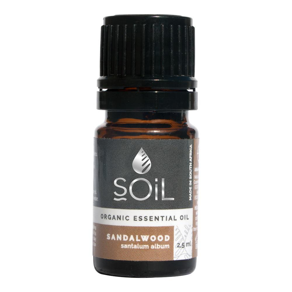 Ulei Esential Sandalwood - Lemn de Santal SOiL, bio 2.5 ml imagine produs 2021 SOiL republicabio.ro