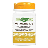 Vitamin D3 2000UI (adulti) 120 capsule moi Nature's Way, natural