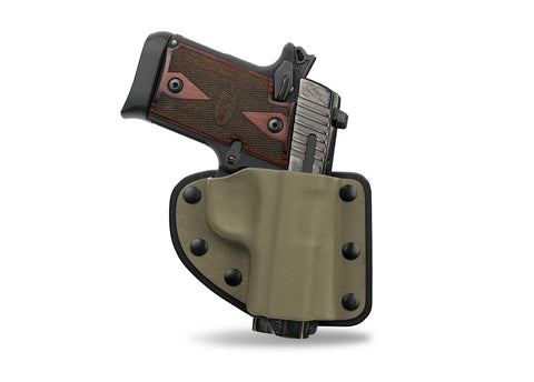 KYDEX RIGID MOLDED HOLSTER (Velcro® Backed)