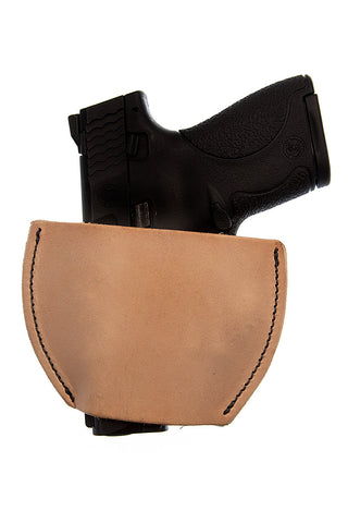 LEATHER  Gun Holster Velcro® Backed