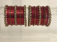 VALENTINE Red Bangle Set