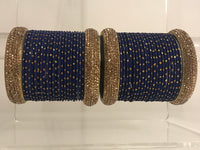 SHIKA Navy Bangle Set