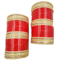 Red Bridal Chura | Your Bangles Exclusive