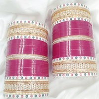 Golden AD Traditional Dot Bridal Chura | Your Bangles Exclusive