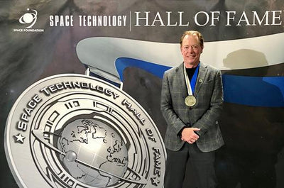 OYO FITNESS & FOUNDER PAUL FRANCIS INDUCTED INTO THE SPACE TECHNOLOGY HALL OF FAME