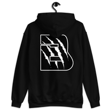 Load image into Gallery viewer, Black/White Bennu OE Unisex Hoodie