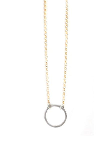 Hammered Always Necklace