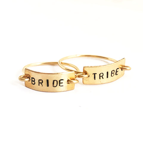 Tayt Ring Set- BRIDE and TRIBE - Friday Flash Sale
