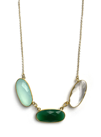 Blaire Necklace - Ocean Breeze